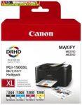 Canon PGI1500XL Multipack (Bk,C,M,Y ) EREDETI (PGI-1500,PGI 1500)