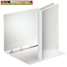 Esselte 49700 fehér panorámás gyűrűskönyv 16 mm gyűrű, 25 mm gerincvastagság- 4 gyűrű