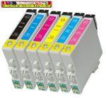 Epson T0481,T0482,T0483,T0484,T0485,T0486 utángyártott tintapatronok