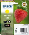 Epson eredeti T2984tintapatron  C13T29844010 yellow 3,2ml