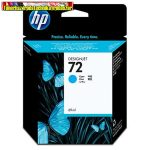 Hp C9398A No.72 eredeti tintapatron Ph. Cyan 69ml