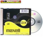 MAXELL CD lemez CD-R80 52x Slim tok