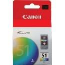 Canon CL-51 színes tintapatron eredeti (CL51)