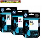 Hp C9386A, C9387A, C9388A No.88.   (Officejet K550 / K5400 / L7480 / L7580 / L7590 / L7680 / L7780 / K8600)    (10ml/900 old./szín)