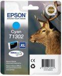 Epson T1302 eredeti St. 525WD,SX620FW,BX320FW kék patron, 10,1ml