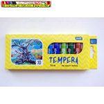 Tempera Educa 10 darabos 7,5ml-es /szín