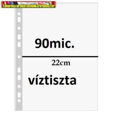 PETIT PLUS Genotherm lefűzhető  XL( 220x300mm) A/4+ víztiszta felület, 90 mikron 50db/csomag