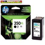 Hp 350XL CB336EE black eredeti (high capacity) ( nagykapacitású fekete tintapatron Officejet j5780,j6410 Photosmart C4280 ,C5280,Deskjet D4260 (25ml/1000 old.)