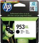 HP 953XL nagy kapacitású fekete eredeti patron L0S70AE 2K