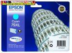 Epson  79XL  cyan eredeti tintapatron T7902 (17,1ml)
