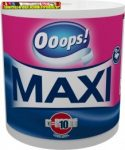 Ooops Maxi (500 lap/tek) – Háztartási papírtörlő (2 rétegű) (kéztörlő)