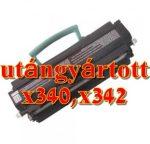 Lexmark X340,X342 standard import utángyártott toner 6K