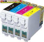 Epson T0711(TO891),T0712(T0892),T0713(T0893),T0714(T0894) (  6. generációs ) utángyártott tintapatron