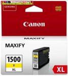 Canon PGI1500XL Patron YELLOW  EREDETI (PGI-1500,PGI 1500)