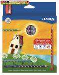 LYRA Groove háromszögletű 24db-os  színes ceruzakészlet 2821240