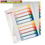 Esselte 100213 nyomtatható regiszter, A4, 1-10 részes