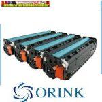 Hp CF211A,CF212A,CF213A Orink prémium utángyártott tonerek 1,8k/szín  131A