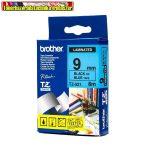 Brother TZ szalagok,TZ-521 kék/fekete 9mm (TZe-521)