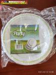 Papír tányér, 22cm -Tuti Party  (10 db/csg)