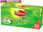 Lipton tea Green Label  30gr (25x1,5gr)