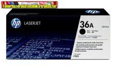 Eredeti Hp CB436A toner  (Fekete festékkazetta LaserJet P1505 M1522 M1120 nyomtató /MFPkhez) (2000 old.)