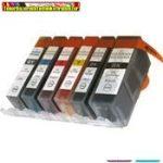 Canon PGI-525 PGBK black utángyártott tintapatronok -Chippel ellátott-- (pgi525,pgi 525)