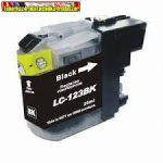 Brother LC123 BLACK standard utángyártott tintapatron 20ml