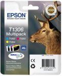 Epson T1306 eredeti St. 525WD,SX620FW,BX320FW multipack, ( c+m+y ), 30,3ml