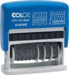 COLOP S120WD fix szavas dátumbélyegző