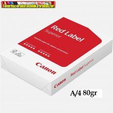 Canon Red Label (Canon Extra ) A/4 80g fénymásolópapír 500ív/cs