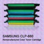 Samsung CLP-660 utángyártott Prémium  lézertoner Bk,C,Y,M (clp660,clp 660,CLP610,CLP 610)