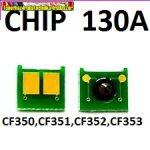 Toner chip HP CF350A,CF351A,CF352A,CF353A  130A
