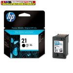 Hp C9351A No 21 eredeti black  ( Deskjet 3910 , 3915 , 3920 , 3930 , 3940 , D1360 , D1460 , D2330 , D2360 , D2460 , F370 , F380 , F2180 , F2280 , F4180 , PSC 1402 , 1410 , 1415 , 1417)  (5ml/175 old).