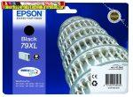 Epson  79XL  fekete eredeti tintapatron T7901 (41,8ml)