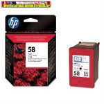 HP C6658A NO.58 fotó tintapatron eredeti (17ml/140 old.)
