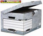 Csapófedeles archiváló konténer BANKERS BOX® SYSTEM by FELLOWES®  560mmx390mmx30mm 11815