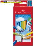 FABER-CASTELL Színesceruza Grip Junior háromsz. 20db/ készlet 116520 (színes ceruza)
