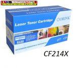 HP utángyártott toner Orink  CF214X BLACK 17,5k  (14X) HIGH-CAPACITY