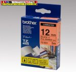 Brother TZ szalagok, TZ-B31 fluor narancs/fekete 12mm (TZe-B31)