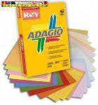Rey Adagio A4/80g másolópapír, neon színek, 4x125lap (banán,eper,kiwi,mandarin)