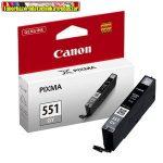 Canon CLI-551 grey (szürke) eredeti tintapatron 125old(5%) (CLI 551,CLI551)