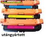 Hp CE261A,CE262A,CE263A SZÍNES utángyártott tonerek 11K/szín 648A