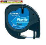 DYMO Letratag Feliratozógép szalag, 12 mm x 4 m, KÉK S0721600/59426