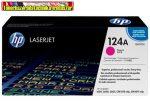 Eredeti Hp Q6003 Magenta (Bíbor festékkazetta Color Laserjet 1600 / 2600N / 2605 / CM1015 / CM1017 nyomtatókhoz)  (2000 old.) 124A