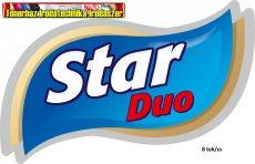 Eü. papír Star (Lilla) Duo 8 tekercses 2 rétegű