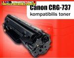 Canon CRG737 utángyártott nagy kapacítású Toner 2,2K (CRG-737;CRG 737)