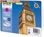 Epson T70334010 Magenta tintapatron 0,8K C13T70334010 (Eredeti)