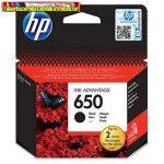 HP 650 CZ101AE No.650 fekete eredeti tintapatron DJ Ink Adv. 2515 (360 old.) [CZ101AE]