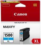 Canon PGI1500XL Patron CYAN  EREDETI (PGI-1500,PGI 1500)