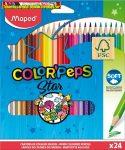 Maped COLOR PEPS színes ceruza, 24 db/doboz 183224
